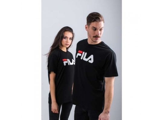 Fila PURE SHORT SLEEVE SHIRT 002 BLACK 681093-002
