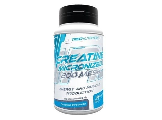 TREC Creatine Micronized 200 Mesh - 60caps