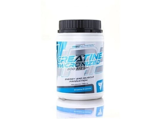 TREC Creatine Micronized 200 Mesh - 400caps